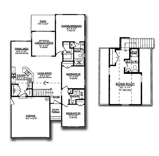 Fox Chase Floor Plan