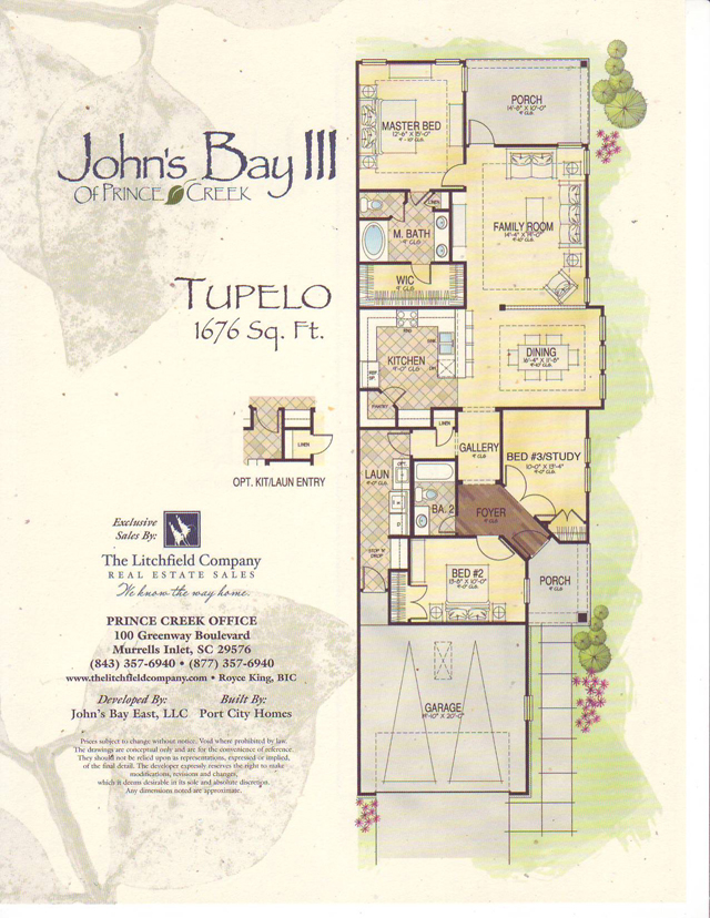 Johns Bay Floor Plan